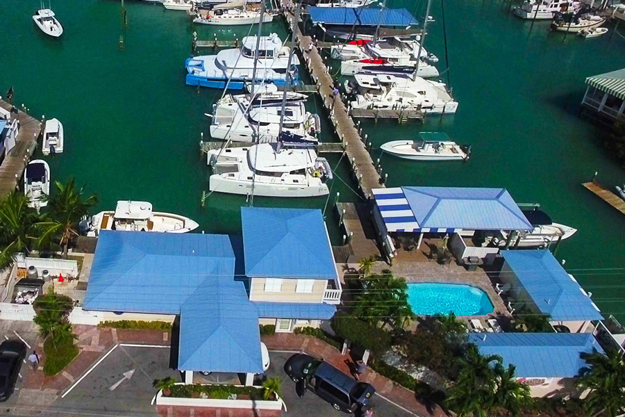 Marina in Marsh Harbour, Abaco - Harbour View Marina - A