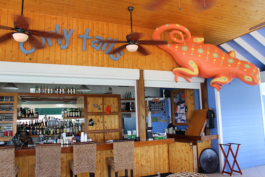 Curly Tail Bar Restaurant Marina In Marsh Harbour View A Full Service